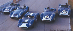 Various Scarab on Track
