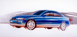 BMW 3 Series (1993) Design Sketch