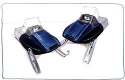 Polaris Snowmobile Sketch