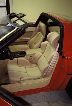 Corvette Seating Design