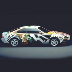 BMW Art Car (1995) - David Hockney