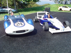Chaparral and Formula BMW Vehicle