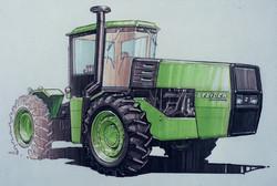 Steiger Tractor Design Sketch