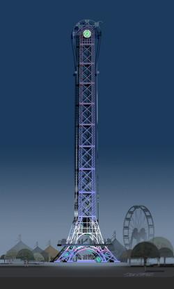 ThrillTime Tower Ride Concept