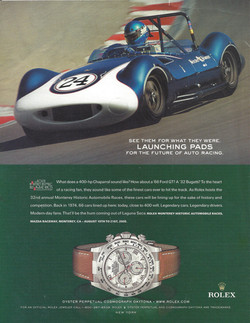Chaparral on Track Advertisment