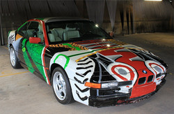 1995 BMW David Hockney Art Car