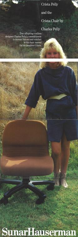 Crista Chair featuring Crista Pelly
