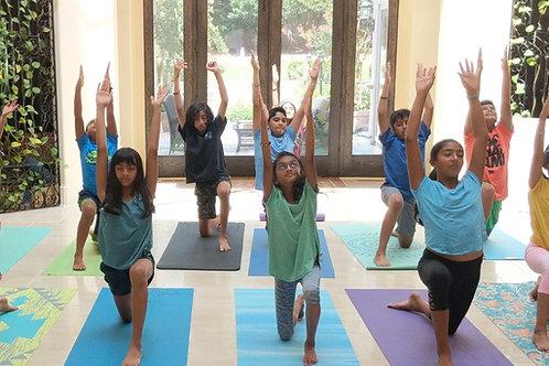 Kids Yoga - Weekly Classes
