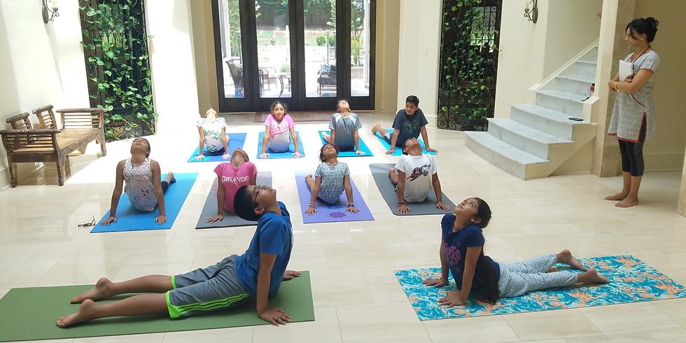 EVENT FULL - Kids Yoga Summer Camp 2021