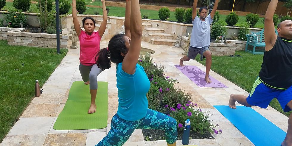 Hatha Yoga - Outdoors (Aug)