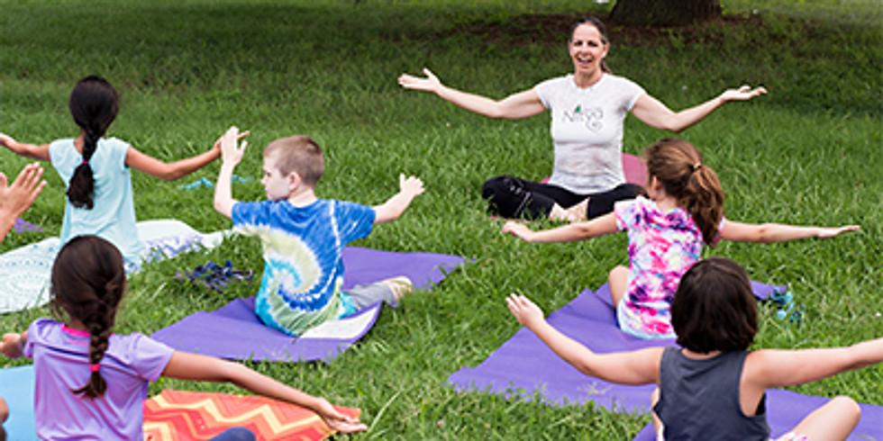 Kids Yoga Camp in Yogaville