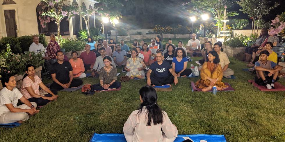 Pranayama/Meditation - Outdoors (July)