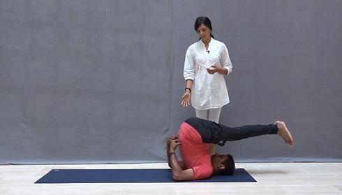 plow pose  vedic health yoga