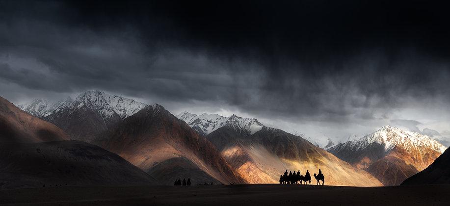 Caravan at Leh, India