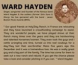 Ward Hayden