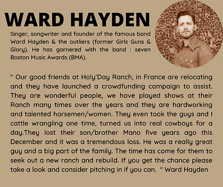 Ward Hayden & the outliers country music