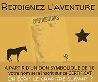 certificat des contributeurs