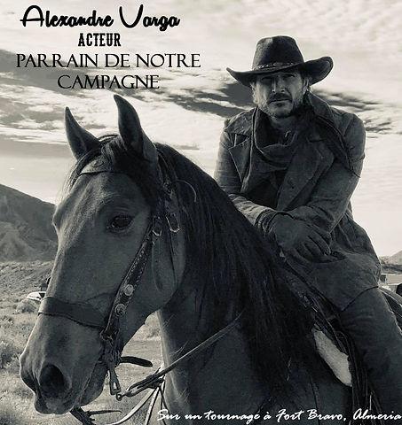 Alexandre Varga acteur tournage western Fort Bravo Almeria