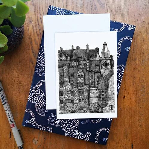 Dean Village, Edinburgh - Greetings Card