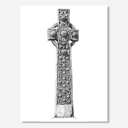 St Martin's Cross, Iona - Original Drawing