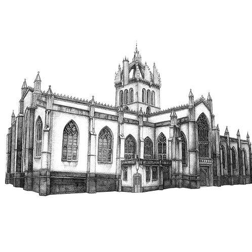 St Giles Cathedral, Edinburgh - Print