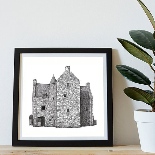 Mary Queen of Scots' Centre, Jedburgh - Original Drawing