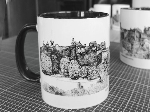 Ceramic Mug - Edinburgh Castle