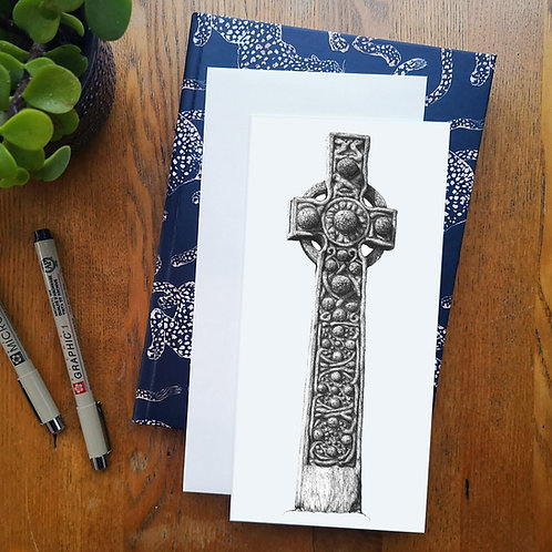 St Martins Cross, Iona - Greetings Card