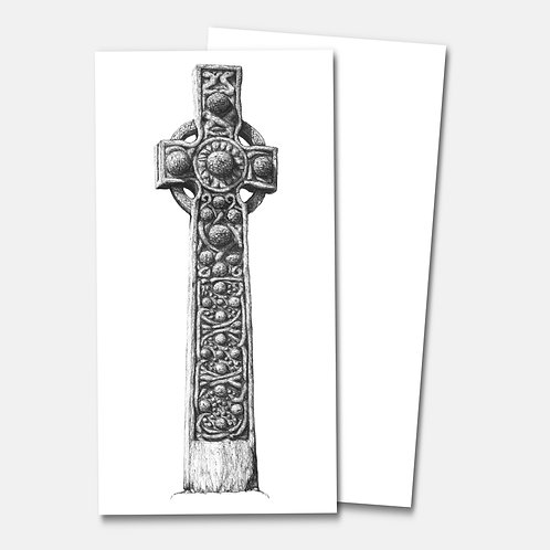 St Martins Cross, Iona - Greetings Card