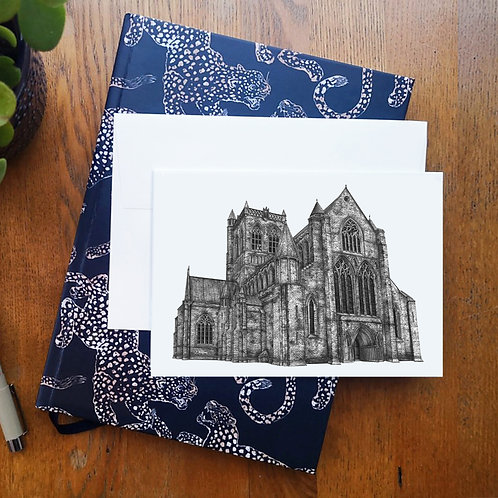 Paisley Abbey A6 Greetings Card
