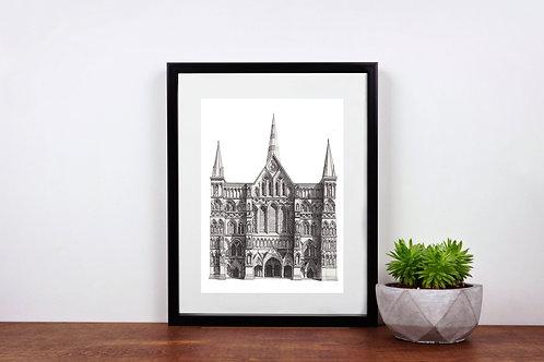 Salisbury Cathedral - Print