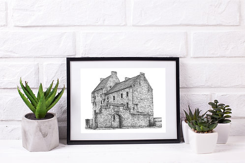 Midhope Castle, South Queensferry - Original Drawing
