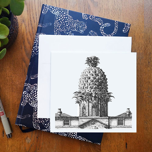 Dunmore Pineapple - Greetings Card