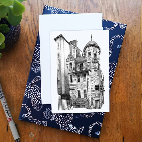 Writers' Museum A6 Greetings Card