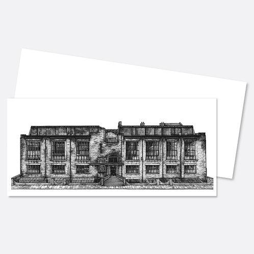Mackintosh Building Greetings Card