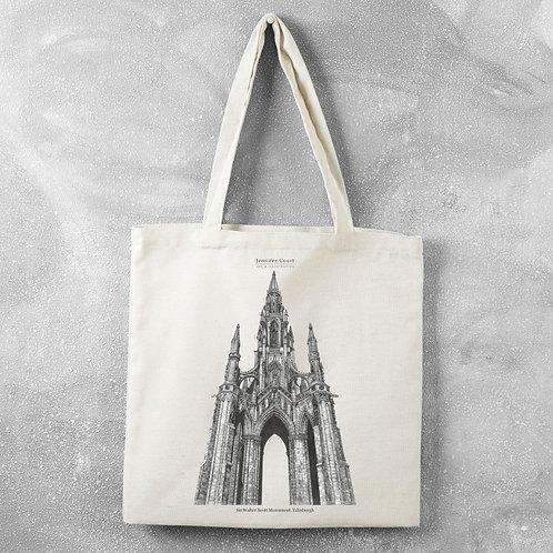 Scott Monument - Tote Bag