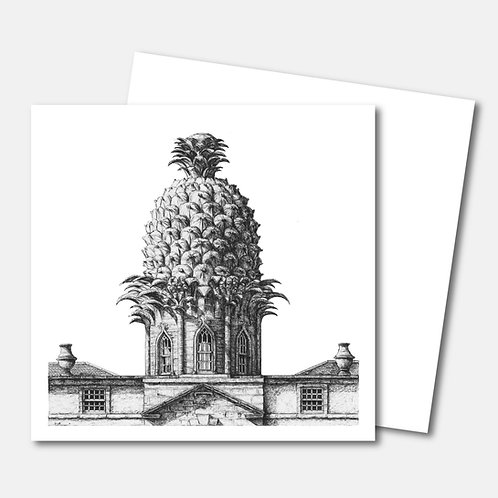Dunmore Pineapple - Greetings Card