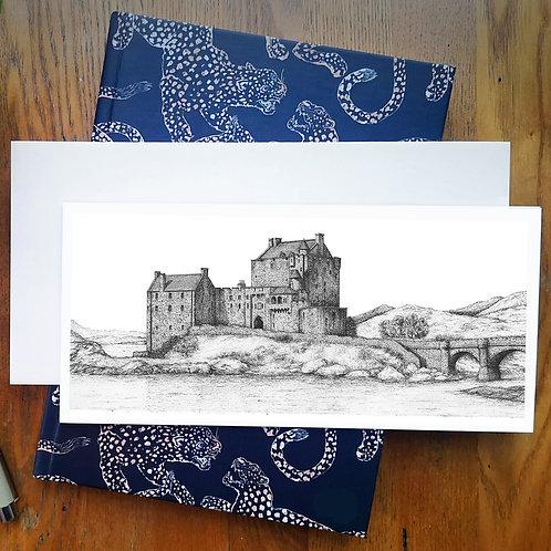 Eilean Donan Castle - Greetings Card