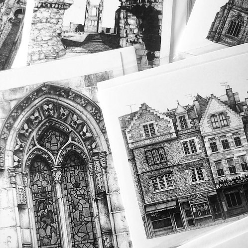 Greetings Cards Bundle - Edinburgh Scenes