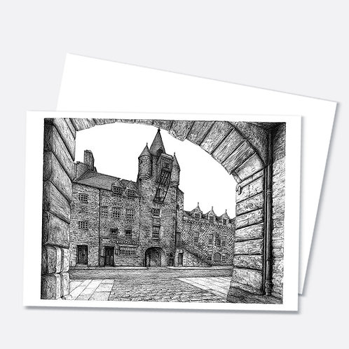 Tolbooth Tavern A6 Greetings Card