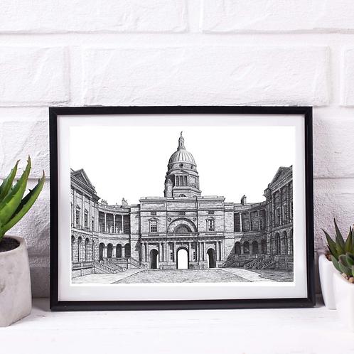 Old College, University of Edinburgh - Print