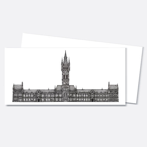 Glasgow University - Greetings Card