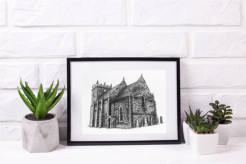 Duddingston Kirk - Original Drawing