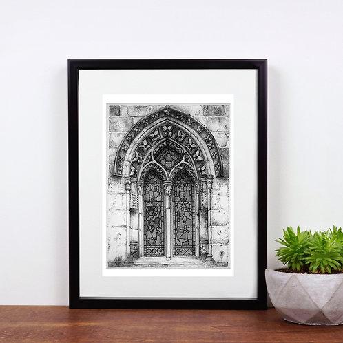 Rosslyn Chapel Window No.1