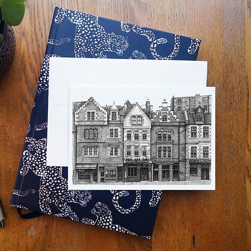 Grassmarket, Edinburgh A6 Greetings Card
