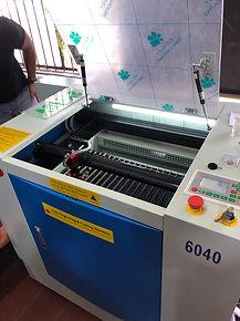 cortadora y grabadora laser