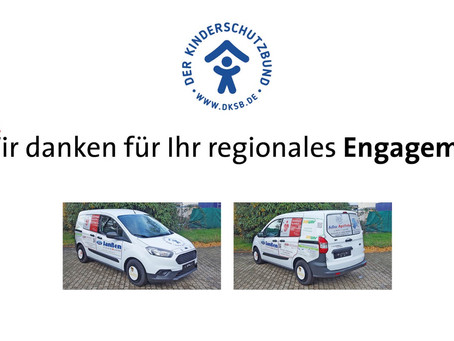 Neues Auto für den Kinderschutzbund