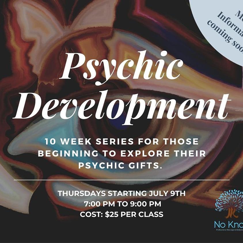 Psychic Development- SERIES POSTPONED