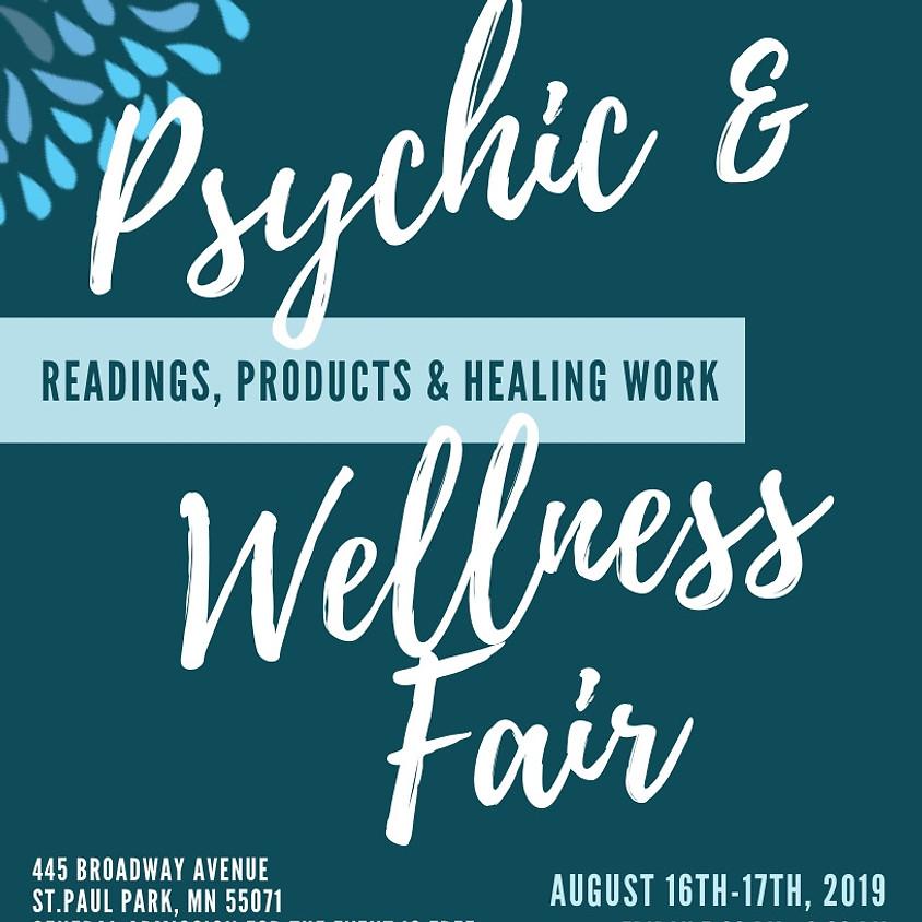 Psychic & Wellness Fair Day 2