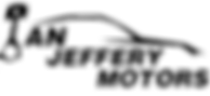 Ian Jeffery Motors - Black logo.png